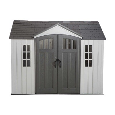 Lifetime 10x8 Single Entrance Plastic Shed - New Edition