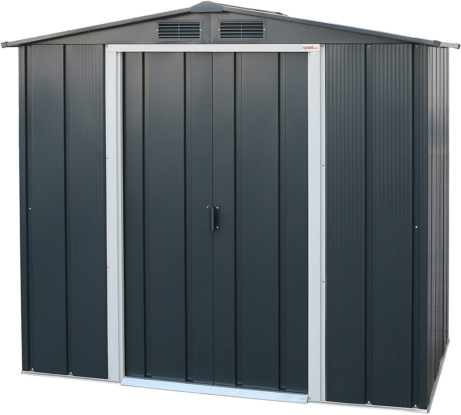 Sapphire 6x4 Metal Shed - Anthracite