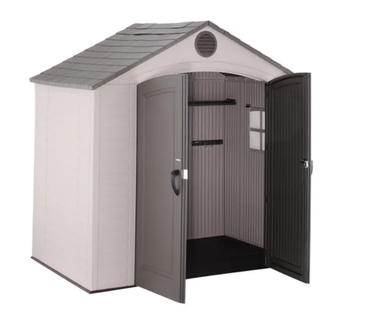 Lifetime 8x5 Plastic Shed - New Edition