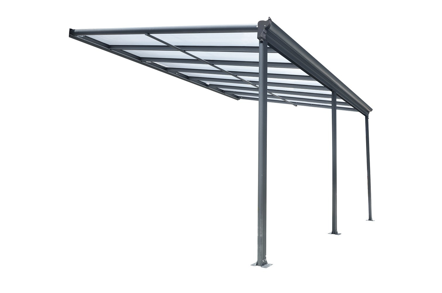 Kingston 10x16 Lean To Carport Patio Cover