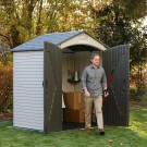 Lifetime 7x4.5 Plastic Shed