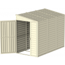 Saffron 4x8 Vinyl Shed (including Foundation Kit)